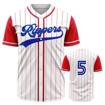 Baseball Jersey, Button-Down